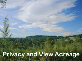 Beautiful Views and Privacy on 9.62 Acre Rural Building Site