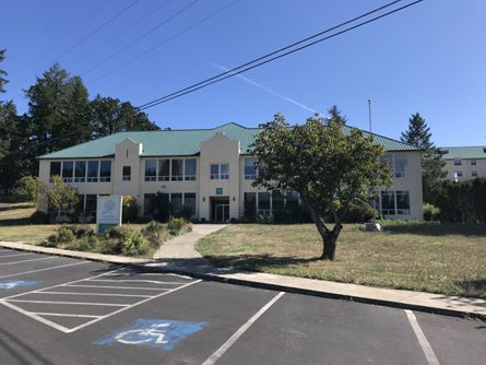 Administration Building on Laurelwood Campus