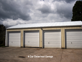 Large Detached Garage